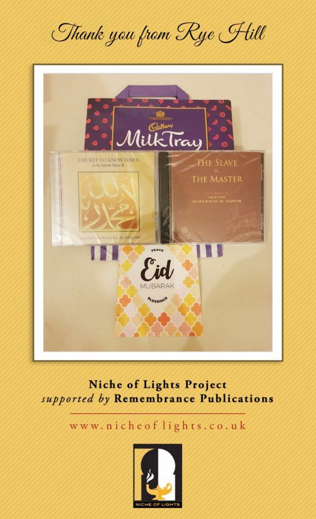 Prisoners Eid Gifts Project - Eid ul Adha 2018